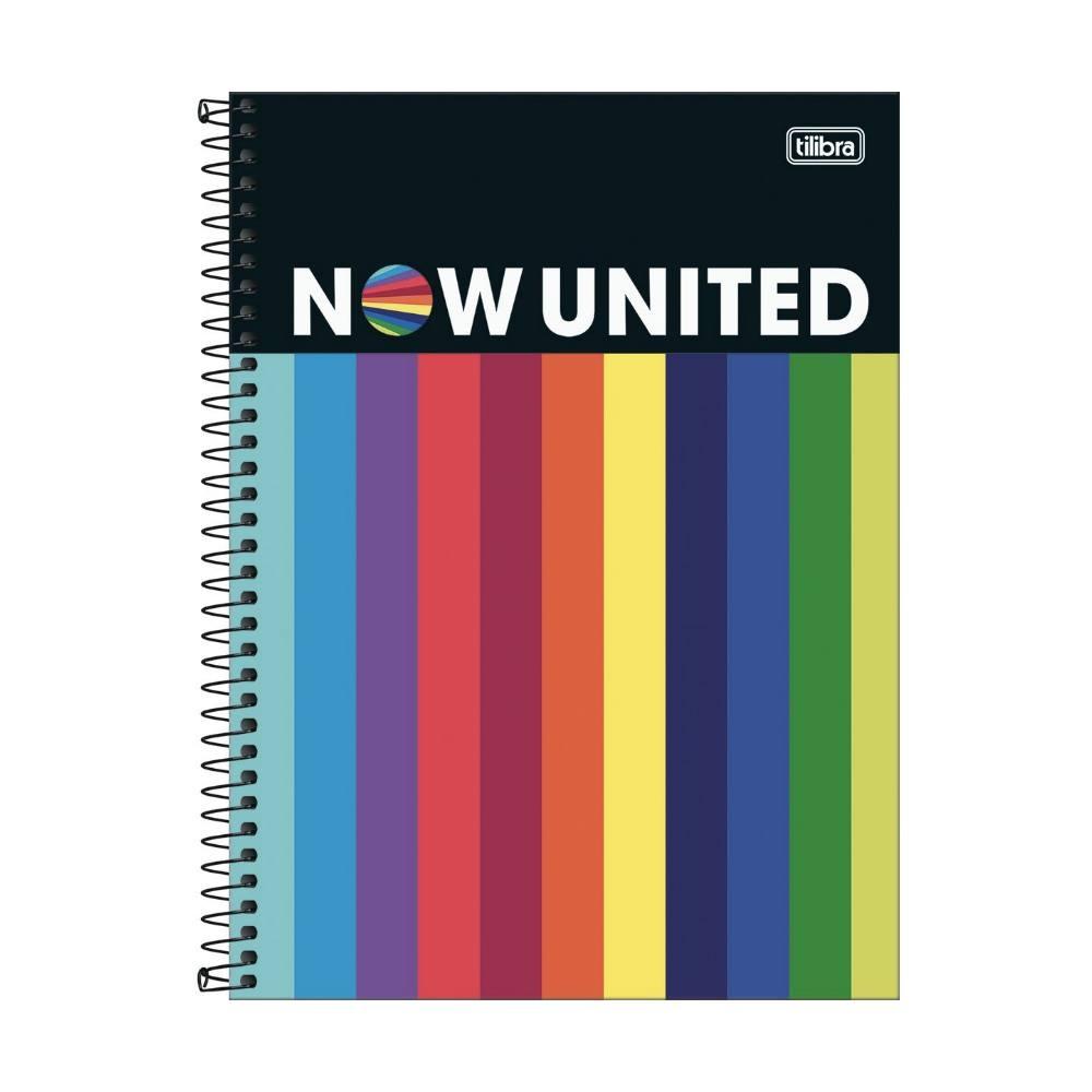 Caderno Universitário Now United - 10 Matérias c/ 160 Páginas - TILIBRA
