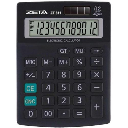 Calculadora 12 Dígitos ZT811 - Zeta