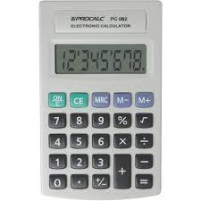 Calculadora de Bolso com 8 Dígitos - Procalc
