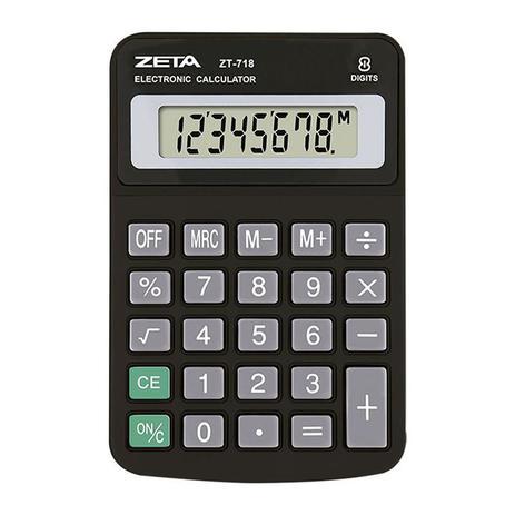 Calculadora de Mesa 8 Dígitos zt718 - Zeta