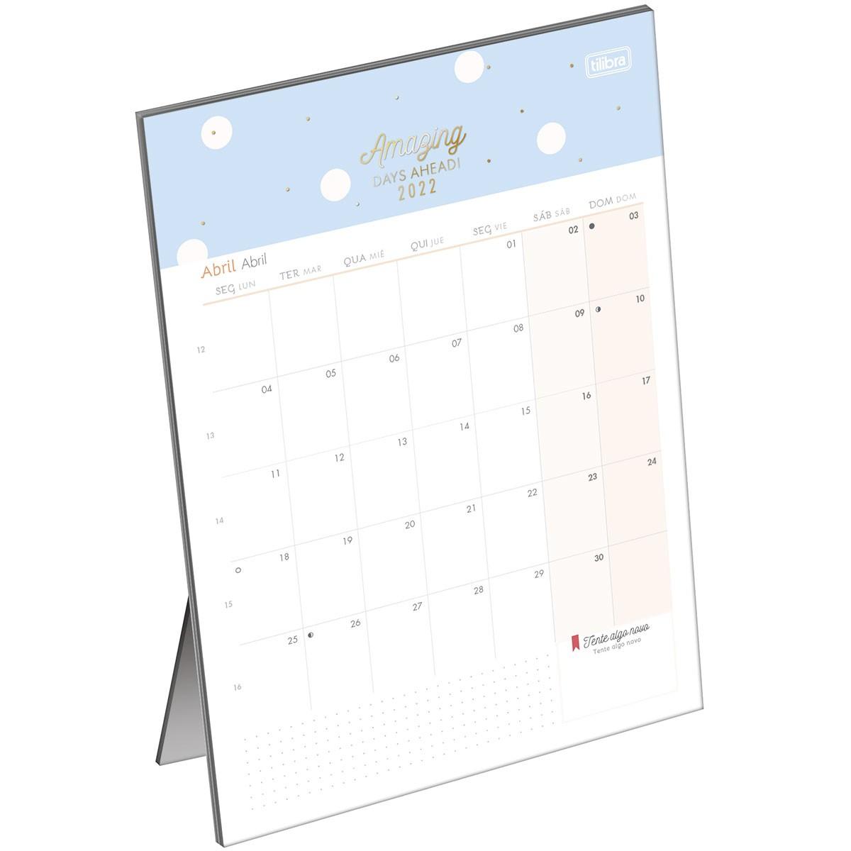 Calendário de Mesa Soho 2022 - Tilibra