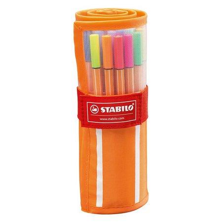 Caneta STABILO Point 88 Estojo c/ 25 cores