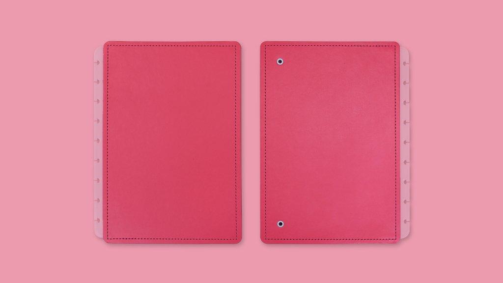 Capa e Contracapa All Pink - Caderno Inteligente