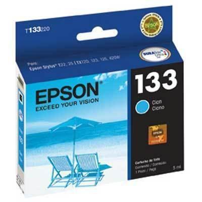 Cartucho 133 T133220A ciano 5ML - Epson
