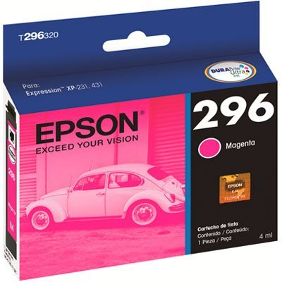 Cartucho Epson 296 Magenta t296320 4ml - original