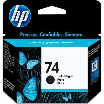 Cartucho HP 74 preto Original (CB335WB)