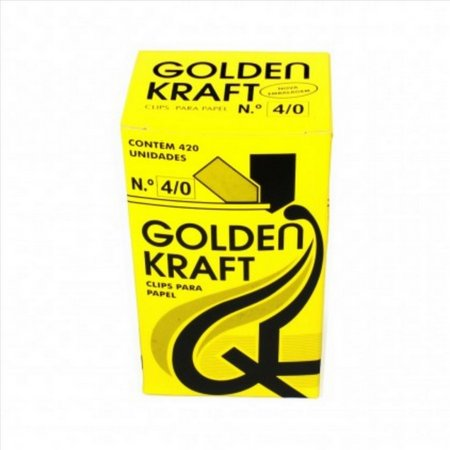 Clips 4/0 - Golden Kraft