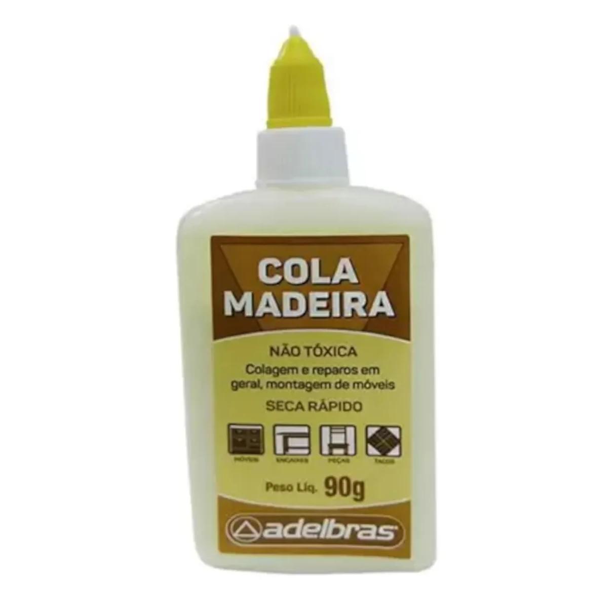 Cola de Madeira 90g - Adelbras