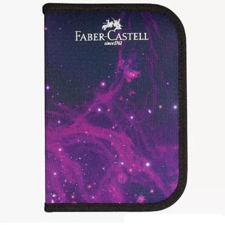 Estojo de Nylon cosmic FABER-CASTELL c/ 18 Peças