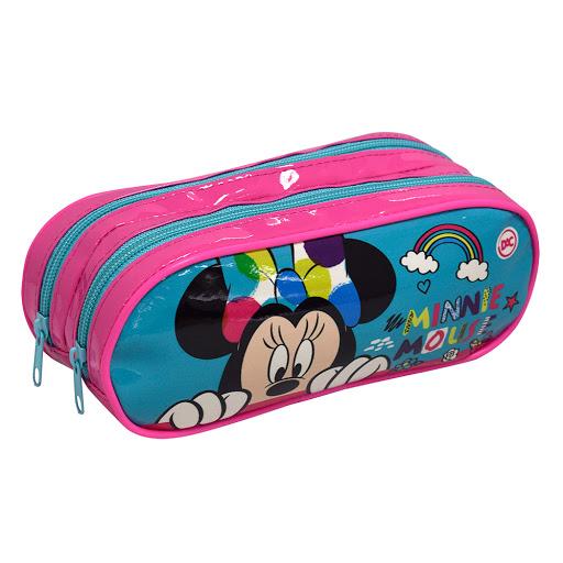 Estojo Escolar Minnie Mouse Duplo - DAC