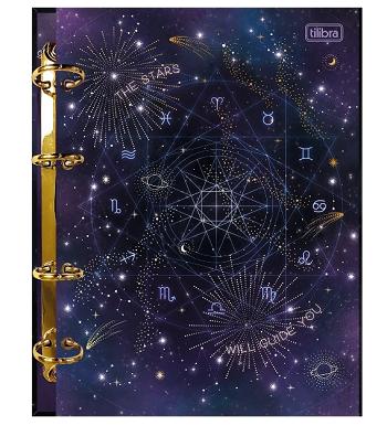 Fichário Argolado Cartonado Colegial Magic - Tilibra