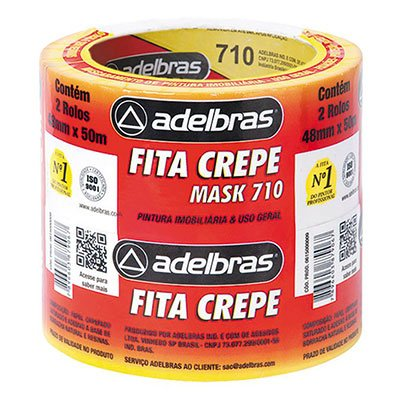 Fita crepe 48mmx50m mask 710 - Adelbras