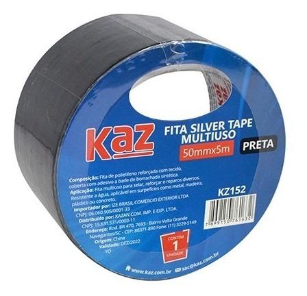Fita Silver Tape Multiuso 50x5 Prata - Kaz