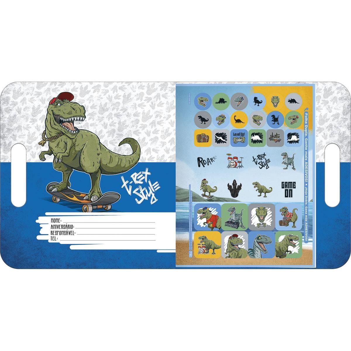 Folhas de Atividades Infantil Raptor Dinossauro - Tilibra