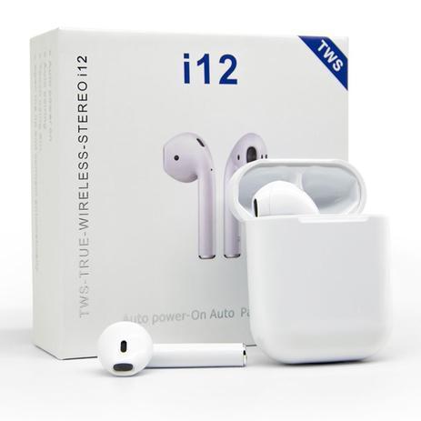 Fone De Ouvido Wireless I12 5.0 - TWS