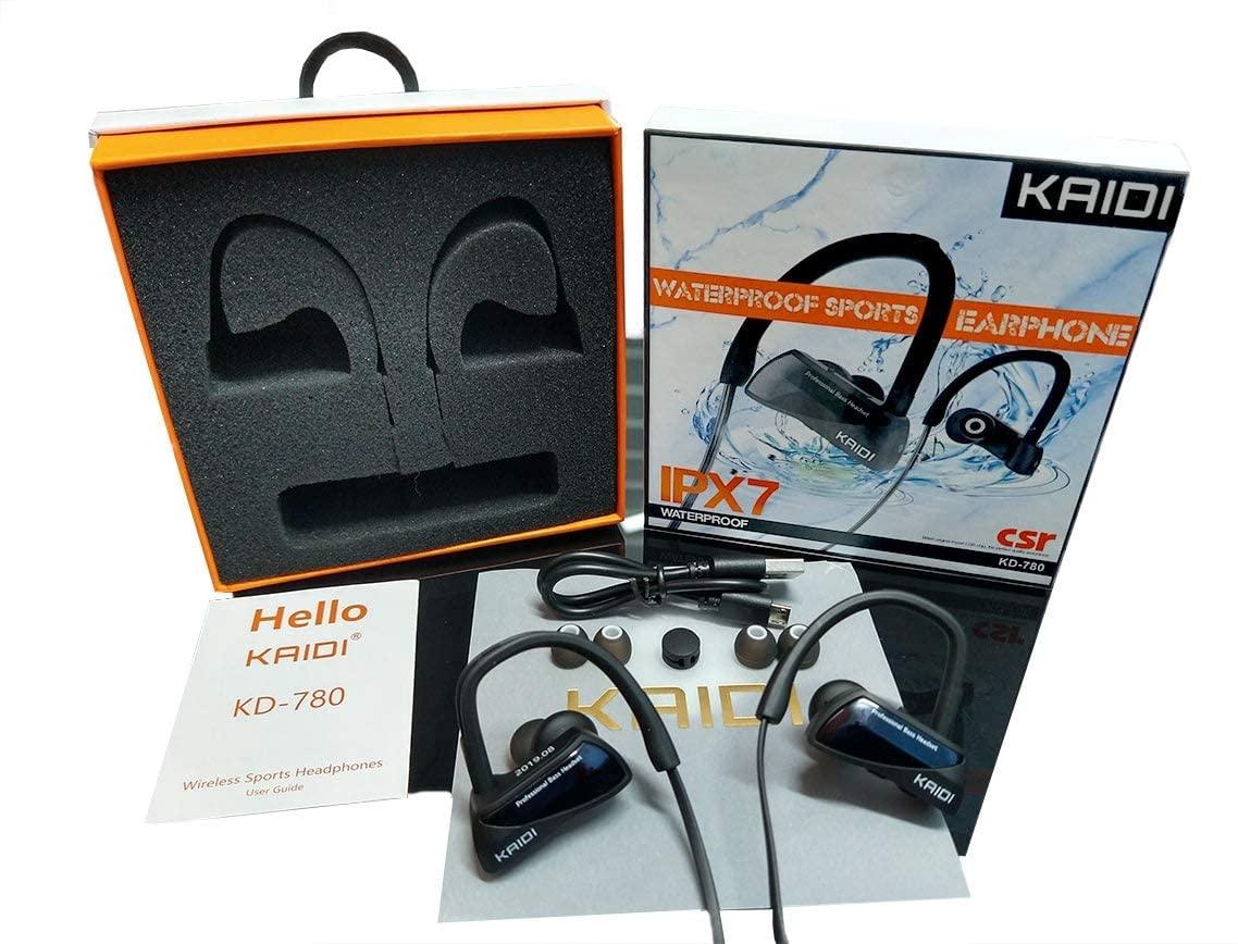Fone De Ouvido Wireless IPX7 Waterproof - Kaidi