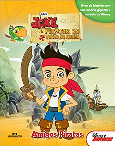 Jake e os Piratas da Terra do Nunca: Amigos Piratas