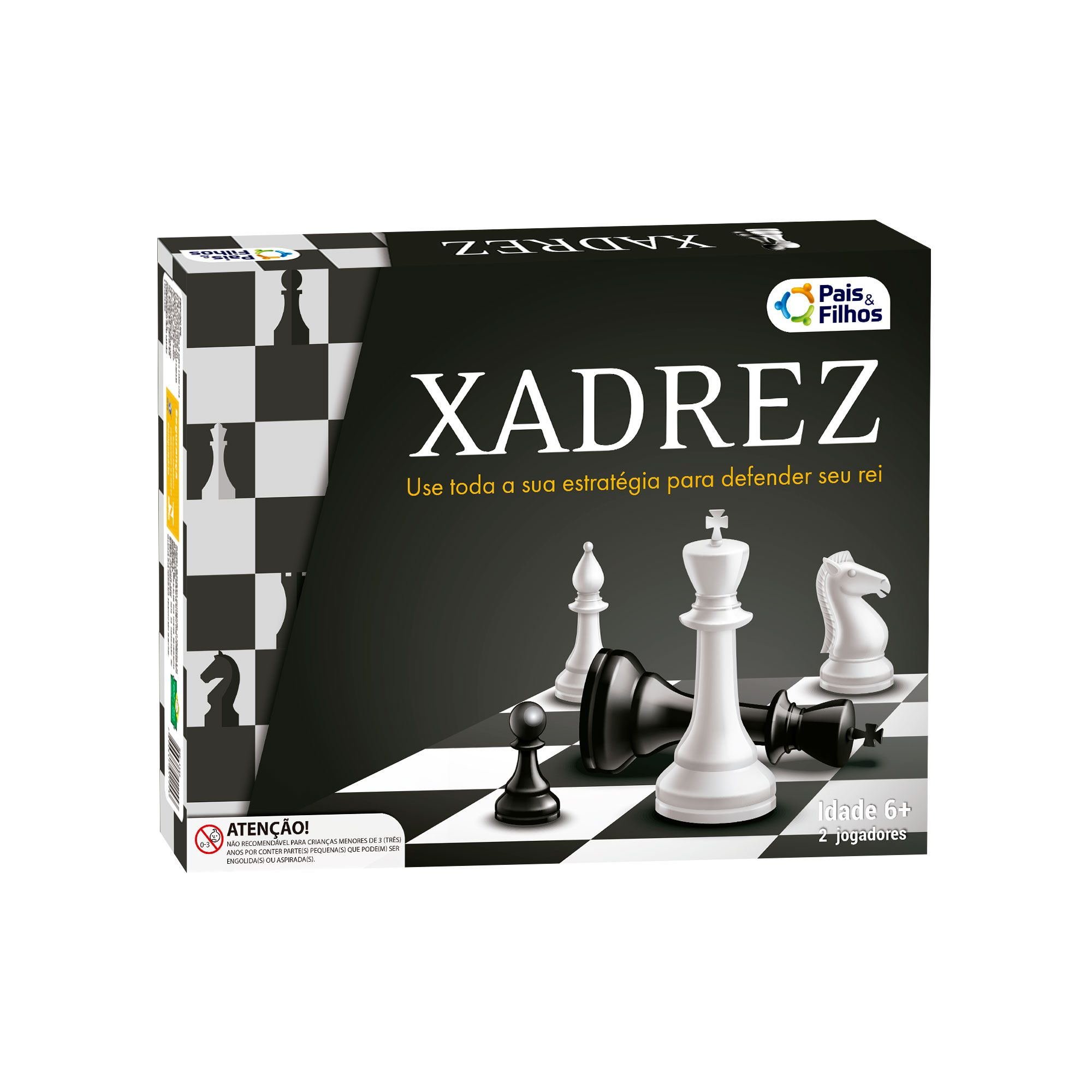 Jogo de Xadrez - Pais e Filhos