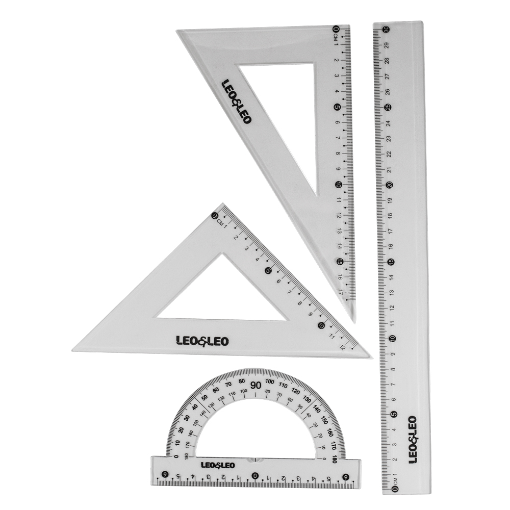 Jogo Geométrico 1º Grau 4 Peças - LeoELeo