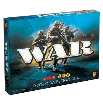 Jogo War o Jogo de Estratégia - Grow