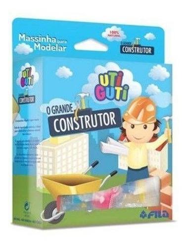 Kit De Massinhas De Modelar O Grande Construtor Uti Guti