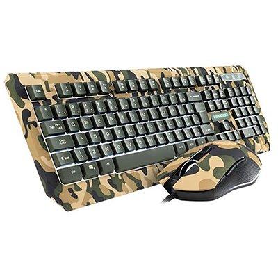 Kit Gamer (mouse/teclado) TC249 - Warrior