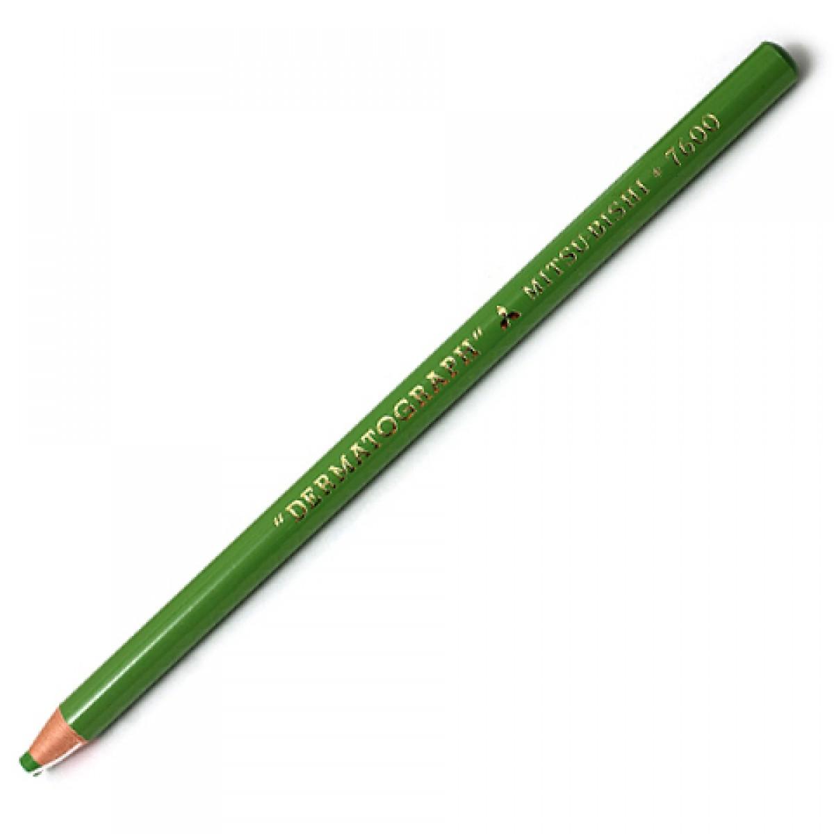 Lápis Dermatográfico Mitsubishi 7600 Verde