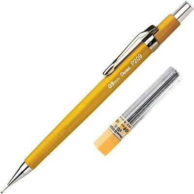 Lapiseira 0.9 Amarela P209 - Pentel