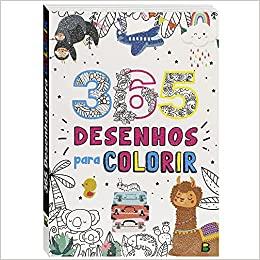Livro 365 Desenhos Para Colorir Brasileitura