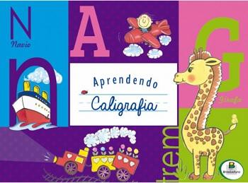 Livro Aprendendo Caligrafia Letras - Brasileitura