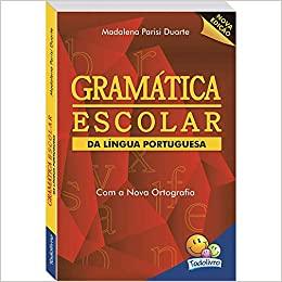 Livro Gramática Escolar da Língua Portuguesa - Todolivro