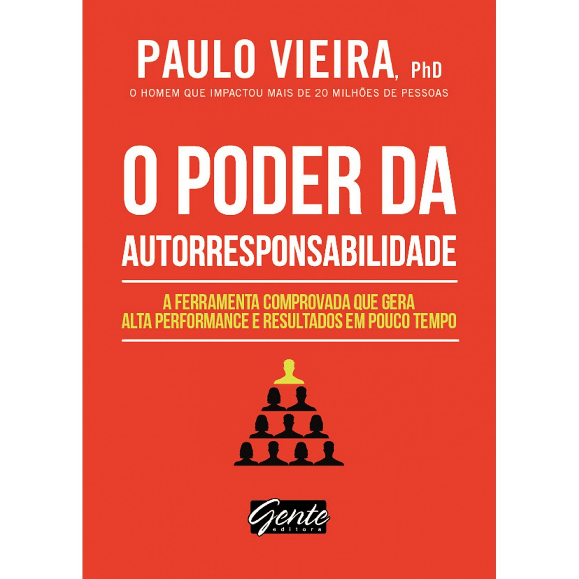Livro O Poder Da Autorresponsabilidade De Bolso Paulo Vieira