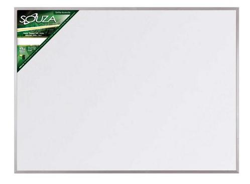 Lousa Branca 100x70 Com Base de Alumínio - Souza