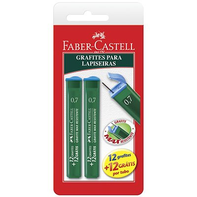 Minas grafite 0.7mm HB - Faber-Castell