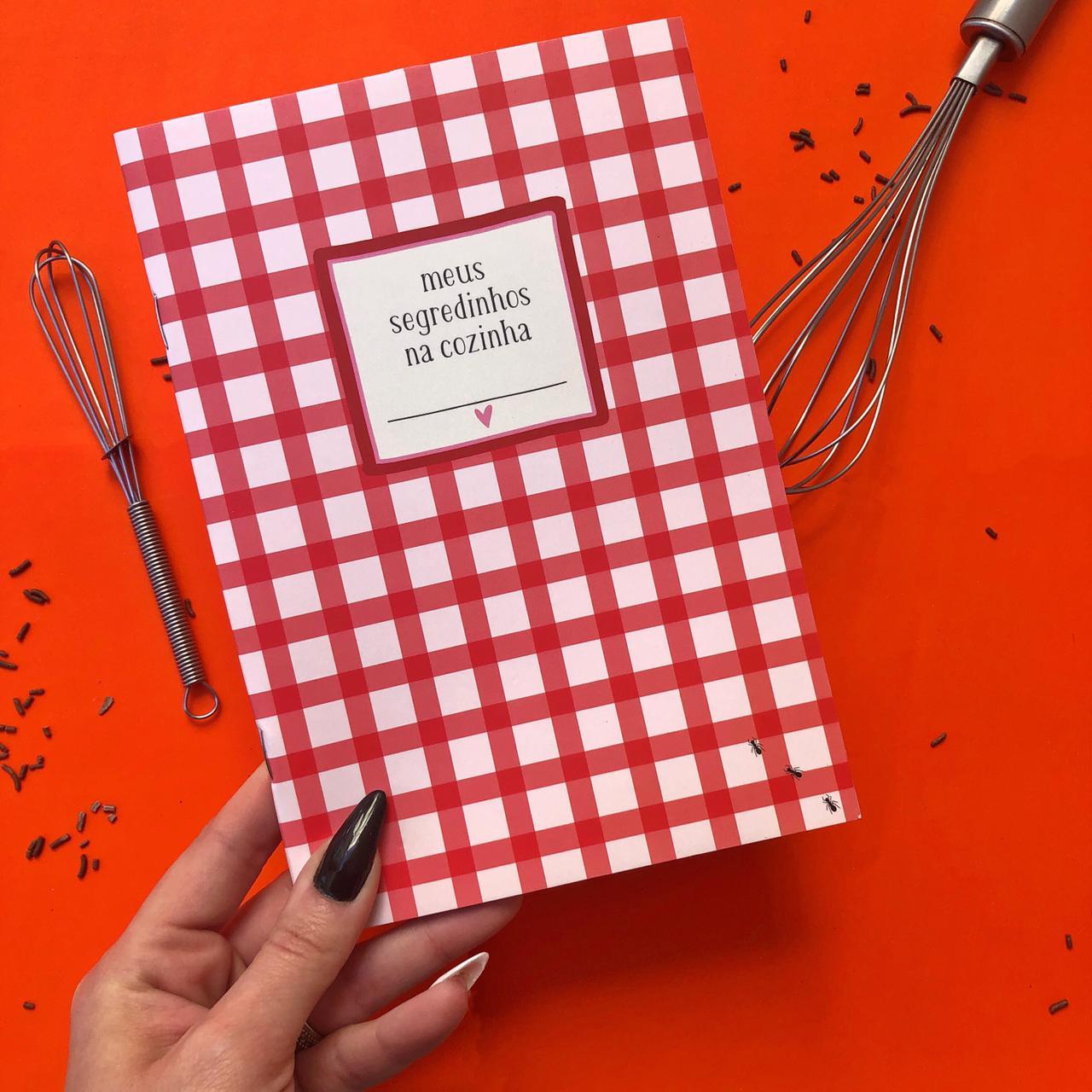 Modulo caderno de receitas - papelote