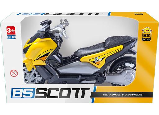 Moto BS Scott - Ref. 488 - BS Toys