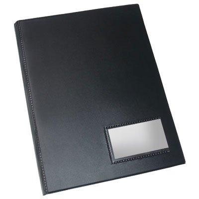 Pasta Catálogo Ofício preta c/100 envelopes finos - Dac