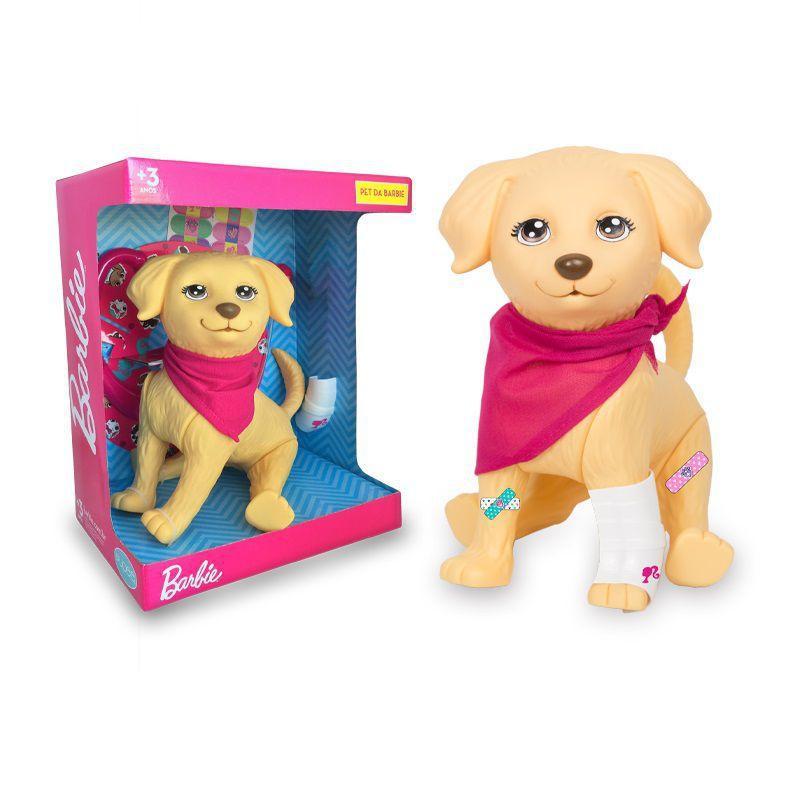 Pet Barbie Veterinária Cachorro Com Acessórios - Pupee