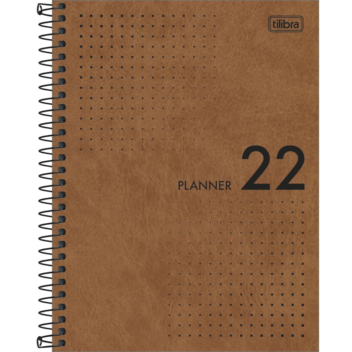 Planner espiral Pratika 2022 - Tilibra