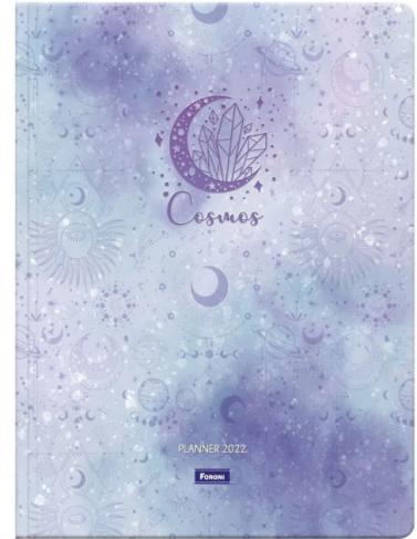Planner grampeado 2022 Cosmos - Foroni