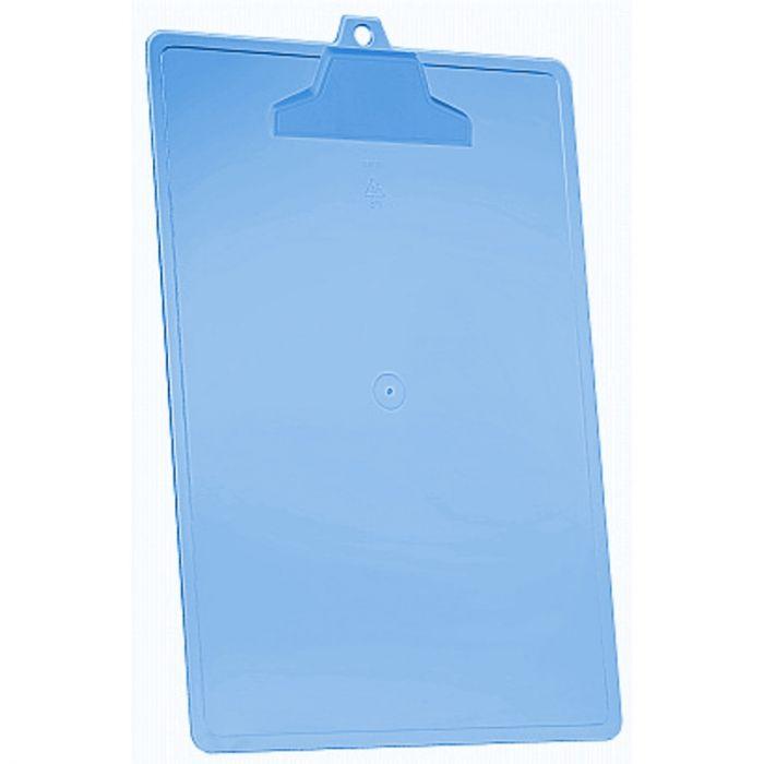 Prancheta A4 pop azul clear - Acrimet