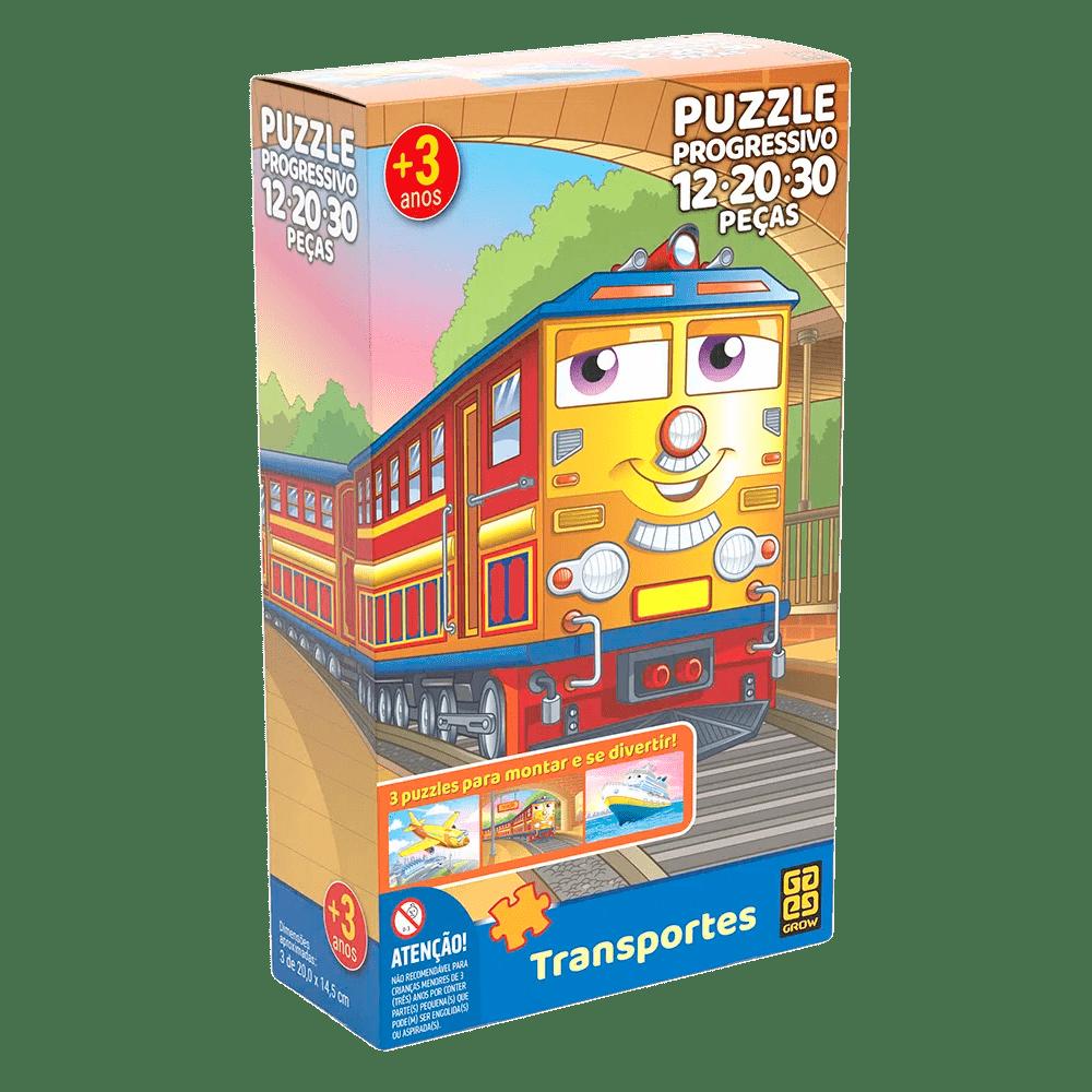 Puzzle Progressivo Transportes - GROW