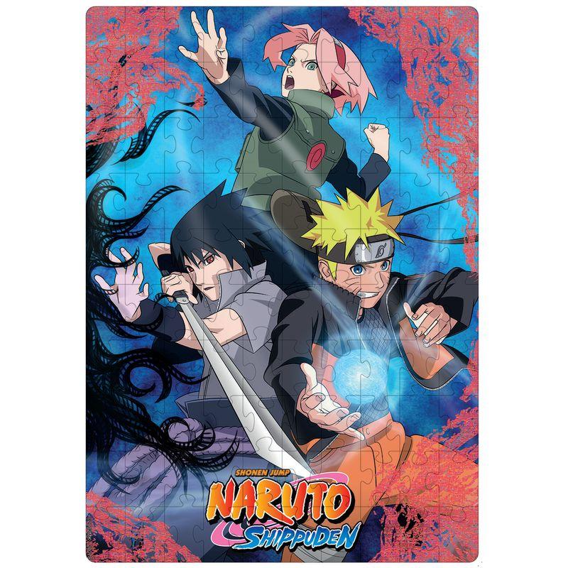 Quebra Cabeça Puzzle Naruto 100 Peças - Elka