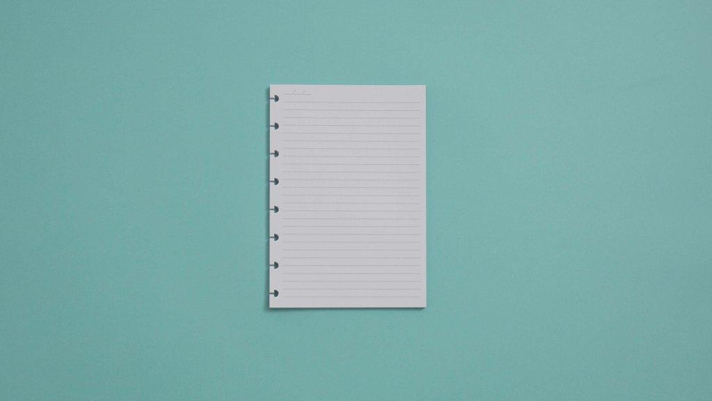 Refil Pautado A5 90g Para Caderno Inteligente Com 50 Folhas