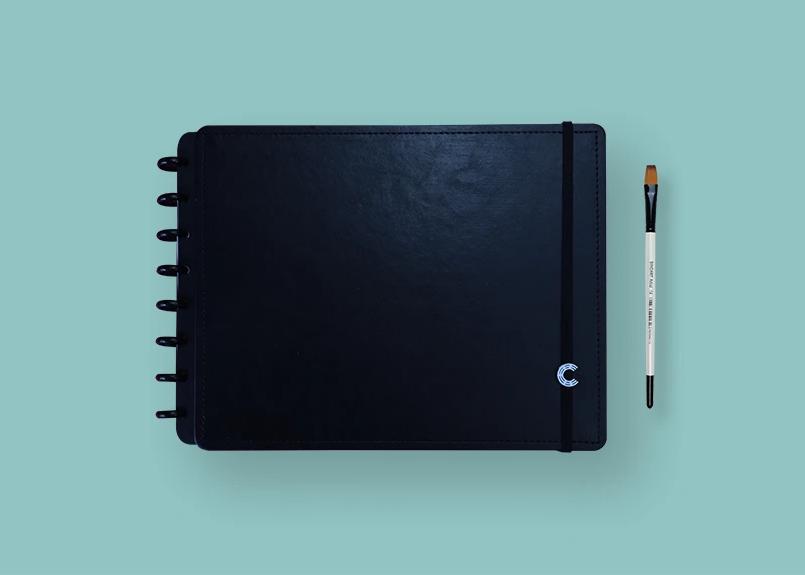 Sthechbook Basic Black A4 - Caderno Inteligente
