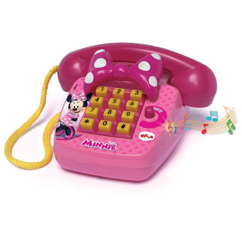 Telefone Infantil Foninho Minnie - Elka