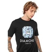 CAMISETA DIAMOND - PRETO