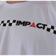 CAMISETA IMPACT RACE - BCO
