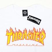 CAMISETA THRASHER 1013020002 - BCO/AMA