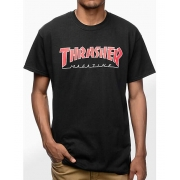 CAMISETA THRASHER OUTLINE 30003 - PTO/VRM